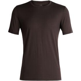 Icebreaker Tech Lite Bluzka z krótkim rękawem Mężczyźni brązowy